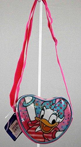 Borsa da passeggio Disney Paperina H 14 cm L 17 cm W 5 cm a cuore