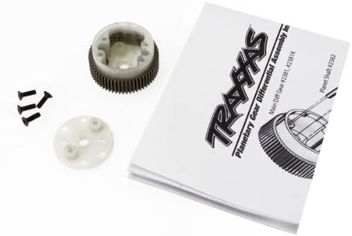 Traxxas 2381X Main Differential Housing and Side Plate