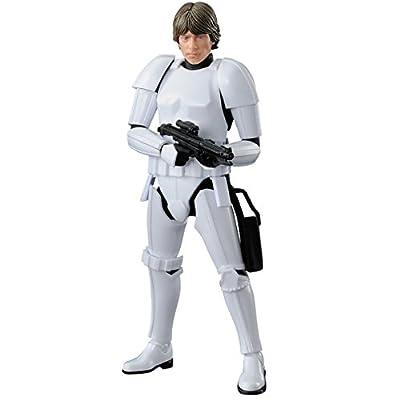 Bandai Hobby Star Wars 1/12 Plastic Model Luke Skywalker Stormtrooper