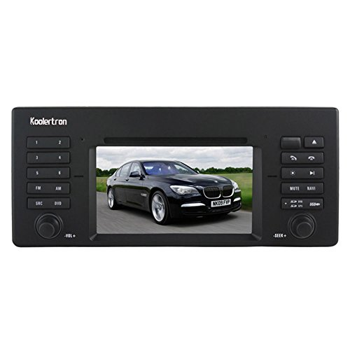 Koolertron For BMW 5 X5 7 Series BMW E39 For BMW 5 Series 1996 1997 1998 1999 2000 2001 2002 2003/BMW E53 For BMW X5 1999-2006 /BMW E38 For BMW 7 Series 1995-2001 DVD GPS player with Digital Touch screen / PIP RDS /V-CDC (Free Map,Factory Fit)