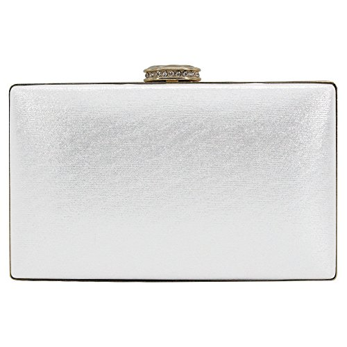 Floral White Wrist Party Purse Night Clutch Hand Bag Wedding Bead Ladies White Female Wiwsi 1qUwd7d