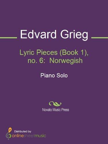 GRIEG: Lyric Pieces (excerpts) / Peer Gynt (excerpts)