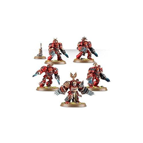 Games Workshop Blood Angels Terminator Assault Squad