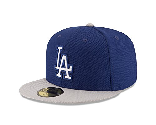 Dodgers Spring Training (MLB Los Angeles Dodgers Men's 2016 Road Diamond Era 59FIFTY Fitted Cap, 7 3/8, Royal)