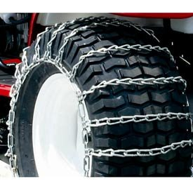 Maxtrac Snow Blower/Garden Tractor Tire Chains, 2 Link Spacing (Pair) - 1060856