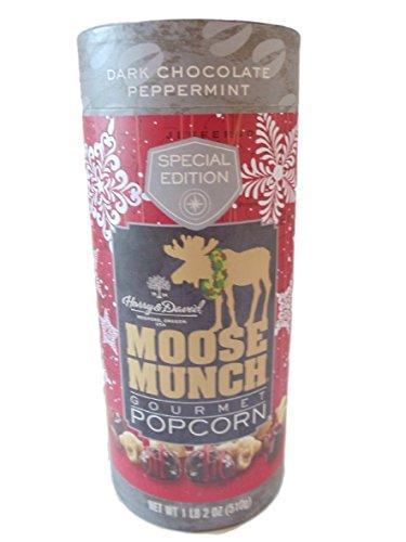 UPC 780994799820, Harry & David Special Edition Dark Chocolate Peppermint Moose Munch Gourmet Popcorn 1lb 2 0z