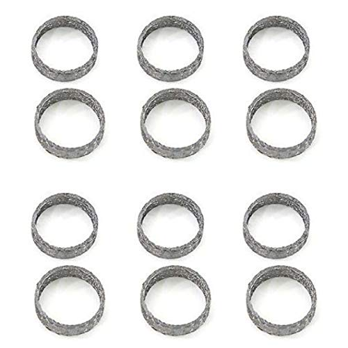 EXHAUST GASKET SET FOR HARLEY 1984-PRESENT EVO EVOLUTION & TWIN CAM 12PCS