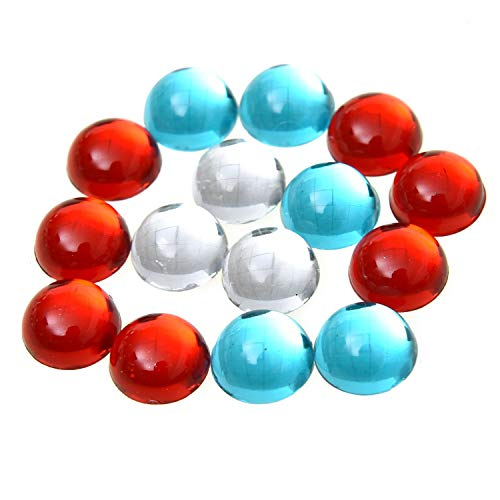 Monrocco 60 pcs Round Cat's Eye Stone Beads Cabochons Flat Back Resin Cabochon for Bezel Tray Earrings Pendants Rings Bracelet Necklace Jewelry Making
