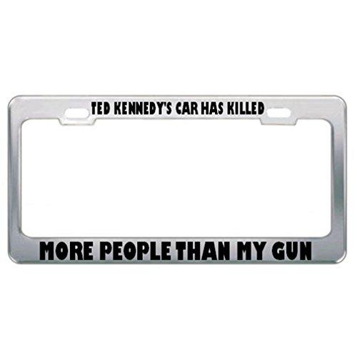 license plate frame pro gun - 5
