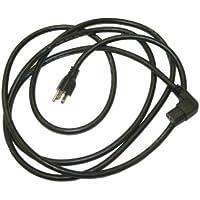 Interpower 70404030305 North American Cord Set, NEMA 5-15 Plug Type, Angled IEC 60320 C13 Connector Type, Black Plug Color, Black Cable Color, 15A Amperage, 125VAC Voltage, 3.05m Length