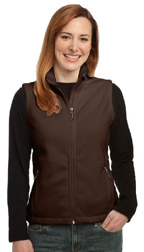 Port Authority Women's Value Fleece Vest, Dark Chocolate Bro