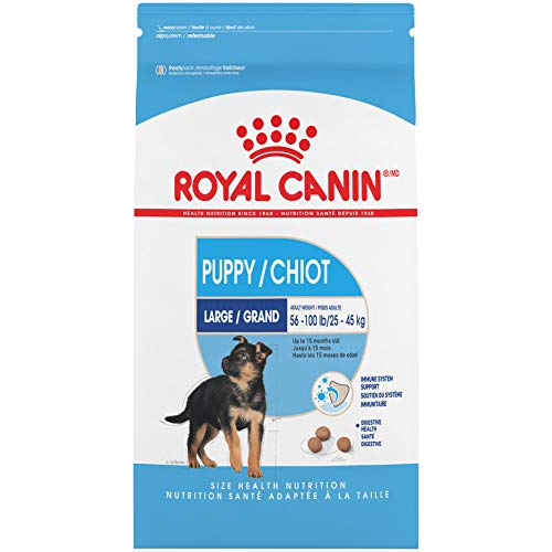 Royal Canin Large Puppy Dry Dog Food, 35 Pounds