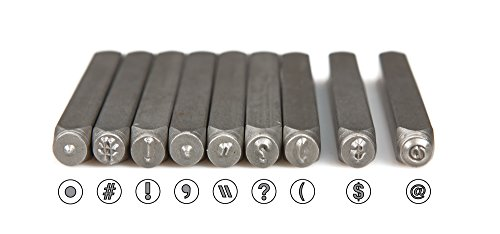 TEKTON 6610 5/32-Inch Letter and Number Stamp Set with TEKTON 6607 5/32-Inch Punctuation Stamp Set by TEKTON (Image #2)