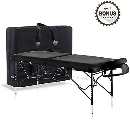Amazon.com: Dr.lomilomi - Mesa de masaje portátil de ...