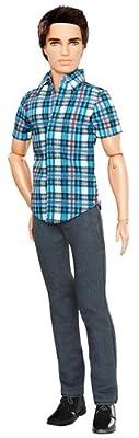 Barbie Ken Fashionistas Ryan Plaid Shirt Doll by Mattel