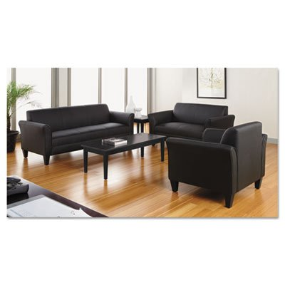 Valencia Series Occasional Table, Rectangle, 47-1/4 x 20 x 16-3/8, Black, Sold as 1 Each