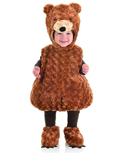 Teddy Bear Costume Baby (Underwraps Baby's Teddy Bear Belly, Brown, X-Large)