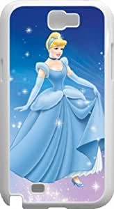 Kingsface Cinderella Samsung Galaxy Note II cover case cover - Custom Personalized Samsung Galaxy Note 0umqacgMBMb II case cover