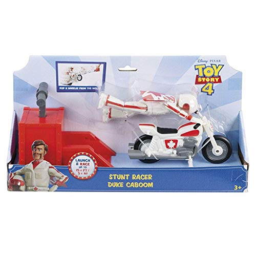 디즈니 픽 사 『 토이 스토리 4 』 점심 및 레이싱 액션 피겨 촌뜨기 듀크カブ?ムDisney PIXAR 2019 TOY STORY 4 STUNT RACER DUKE CABOOM 최신 영화 인형 장난감 [병행 수입 / Disney Pixar `Toy Story 4` Lunch Race Action Figure Stunt Racer Du...