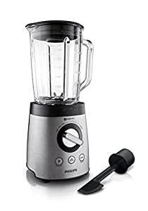 Philips HR 2195/08 Avance Collection Standmixer aus Edelstahl, 900 W, 2 L...