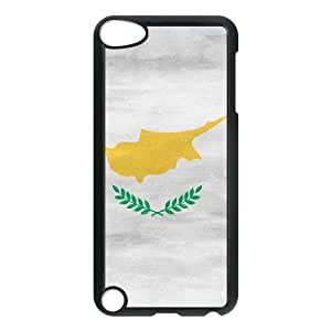 iPod Touch 5 Case Black Cyprus Flag Distressed TR2354557