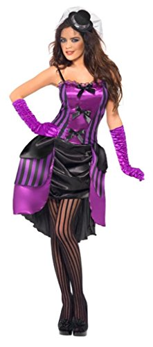 Burlesque Costumes For Sale (Fever Women's Burlesque Lolita Darling, Purple/Black, Small)