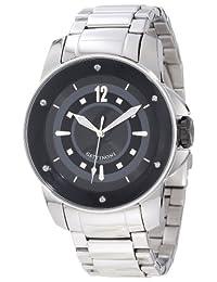 Gattinoni Men's Draco Stainless Steel Luminous Watch Black W0195JSSBLK