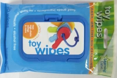 Toy Wipes 30 pcs sku# 905556MA by Learning Curve