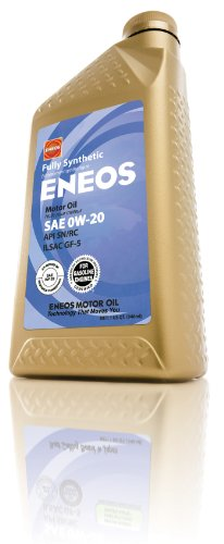 eneos-3230300-api-sn-ilsac-gf-5-certified-0w-20-fully-synthetic-motor-oil-1-quart-bottle