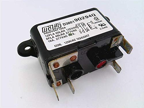 MARS 90294Q Relay, Replacement, Fan Switching, Continuous AMP, 125-277VAC, SPDT, 5BLADE, N.O. Coil 110-120VAC 50-60HZ ()