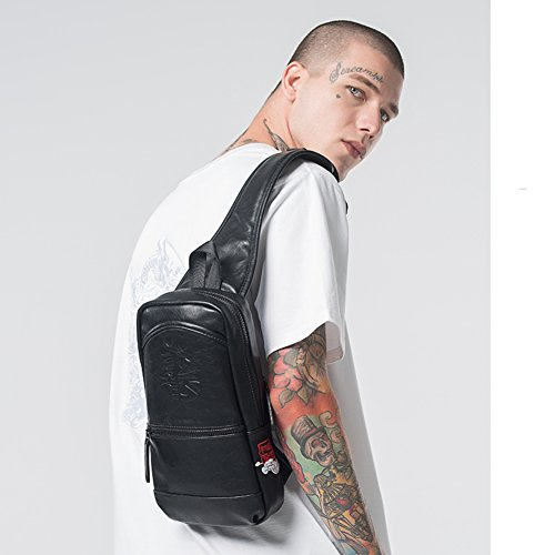 Bolsos al bordado bolsa moda pecho de A tipo Bandolera aire único de medio del libre retros hombro marca Chino A Bolso 1x6qnxP