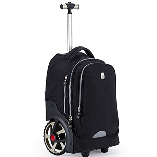 de24de856c62 HCC&& Wheeled Backpacks, Aluminum Alloy Nylon Trolley Backpack ...