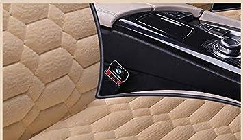 Braun-1 EXQUILEG Premium Auto Sitzauflage aus Pl/üsch,Sitzschoner mit universeller Passform,der perfekte Schutz f/ür Ihre Autositze