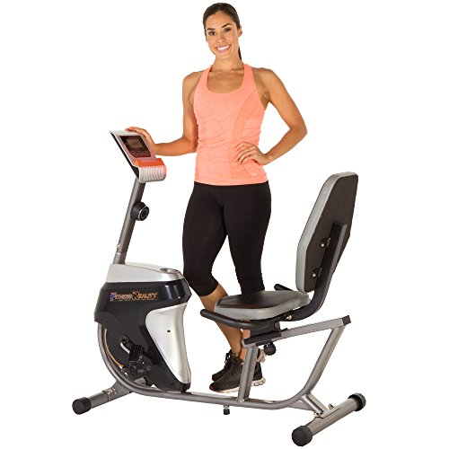 Fitness Reality R4000 Magnetic Tension Recumbent Bike with Workout Goal Setting Computer Paradigm Health & Wellness Inc. -- DROPSHIP