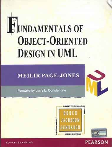 Read Online Fundamentals of Object-Oriented Design in UML pdf