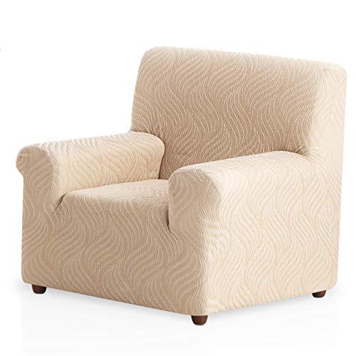 Bartali Funda de sillón elástica Aitana - Color Gris - Tamaño 1 Plaza (de 50 a 90 cm)