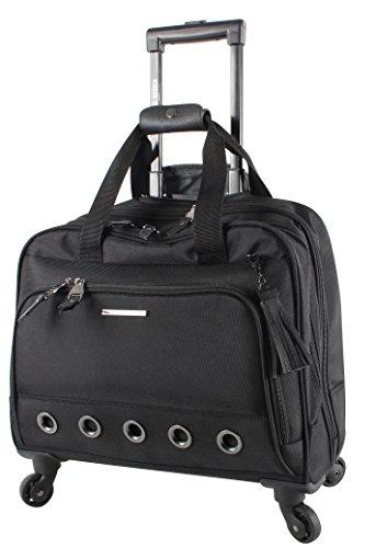 Steve Madden Luggage Wheeled City Bag (B-Social Black)
