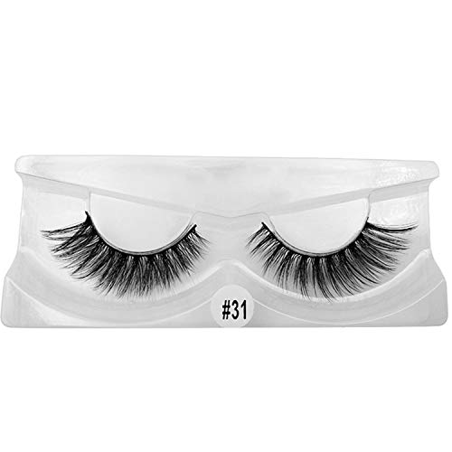 (1 box mink eyenatural long 3d mink eyehandmade false eyefull strip eyemakeup false eyelash,W31,Gold)