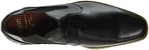 Bugatti 311199201000 Stivali Schwarz Chelsea Nero Uomo TTrpvwBnqx