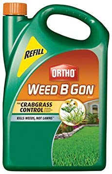 (3) ea Scotts / Ortho 0421110 1.33 Gallon, Weed B Gon Max Plus Crabgrass Control Ready To Use Refills
