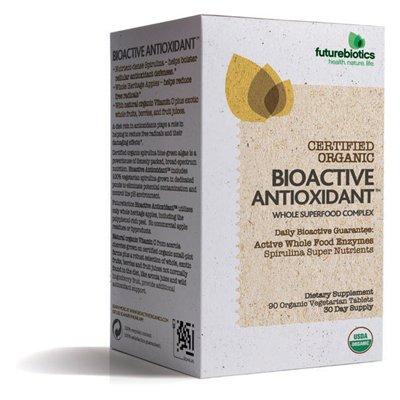 Futurebiotics, certifiés biologiques bioactifs Antioxydant 90 Comprimés végétariens (Multi-Pack)