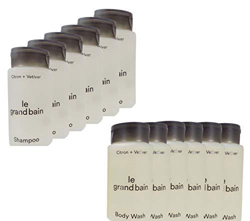 (Bundle Travel Set: Le Grand Bain Shampoo & Body Wash - 6 of Each)