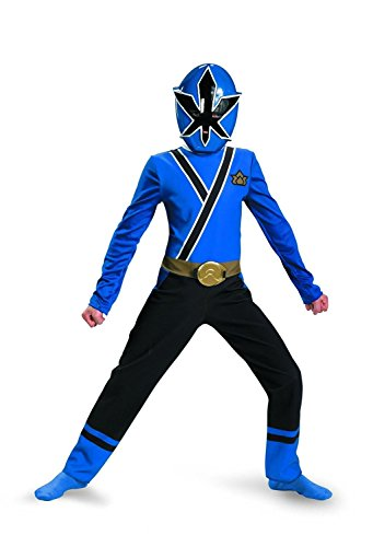 [Saban's Power Rangers Super Samurai Child's Costume 2pc set Size 4 - 6x (Blue Ranger)] (Red Jumpsuit Costume)