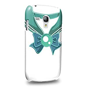 Case88 Premium Designs Art Sailor Moon Crystal Sailor Nepturn Vintage Protective Snap-on Hard Back Case Cover for Samsung Galaxy S3 mini
