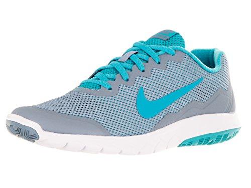 Nike Wmns Flex Experience RN 4 Scarpe da Ginnastica, Donna Azul (Blue Grey / Gmm Bl-gmm Bl-white)