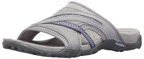 Merrell Women's Terran Slide II Athletic Sandal, Sleet, 8 M US