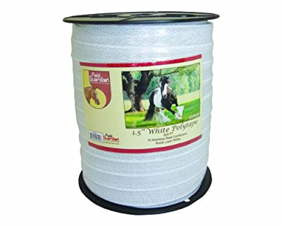 Field Guardian Reinforced Polytape, 1.5-Inch, White