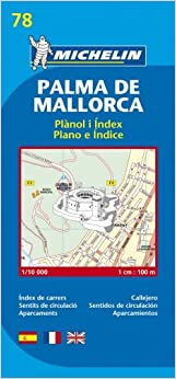HOT Map 9078 Palma De Mallorca (Michelin City Plans). limpieza RACON blues Pozidriv great friends Night