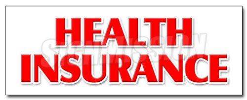 DECAL sticker medical insurance dental vision provider ()