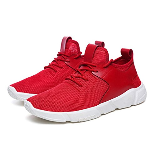 Clearance! Men' Fashion Sneakers, Among Mesh Straps Sports Running Casual Sneakers Solid Color Outdoor Breathable Shoes